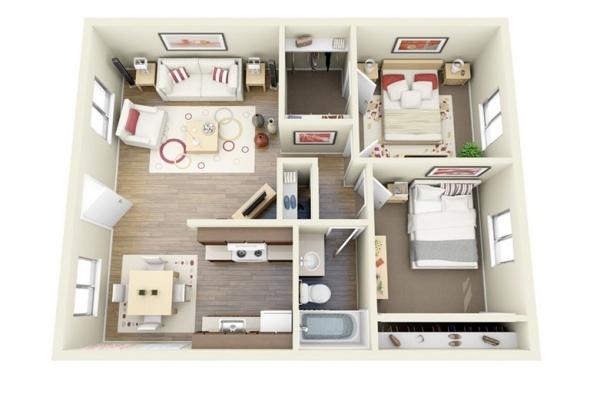 Apartament 2 camere | Renovare Apartament 2 Camere